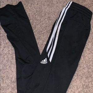 Brand new condition Adidas 3 stripe joggers!!